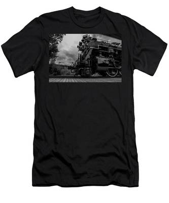 Steam Loco 765 Men's T-Shirt (Athletic Fit)