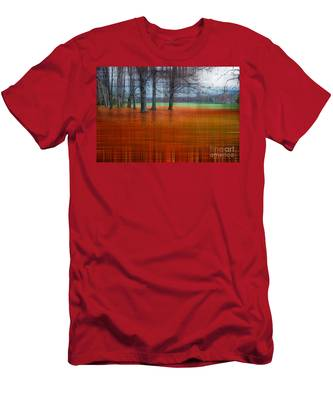 abstract atumn II Men's T-Shirt (Athletic Fit)