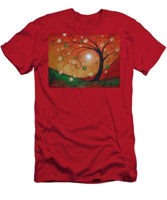 Fairy Tree Men's T-Shirt (Athletic Fit)