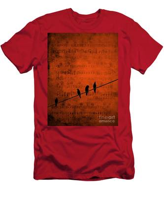 Follow The Music Men's T-Shirt (Athletic Fit)