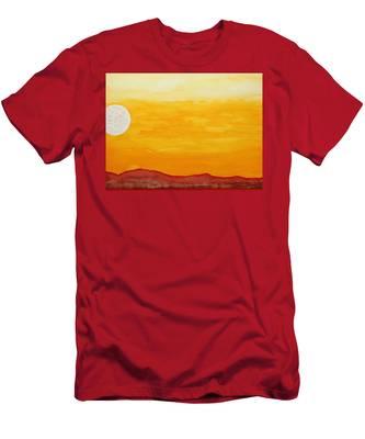 Moonshine Original Painting Sold Men's T-Shirt (Athletic Fit)