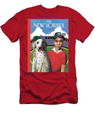 New Yorker May 1st, 1995 Men's T-Shirt (Athletic Fit)