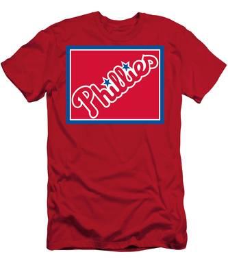 Philadelphia Phillies Baseball Men's T-Shirt (Athletic Fit)
