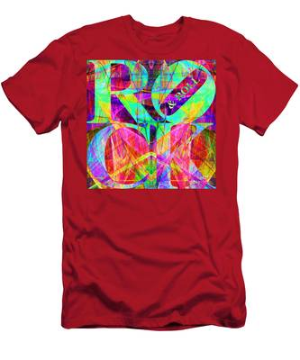 Rock And Roll 20130708 Fractal Men's T-Shirt (Athletic Fit)
