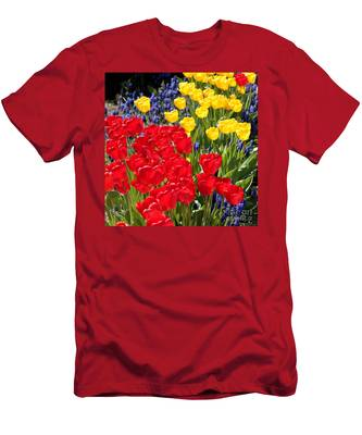 Spring Sunshine Men's T-Shirt (Athletic Fit)