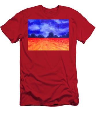 The Autumn Arrives Men's T-Shirt (Athletic Fit)