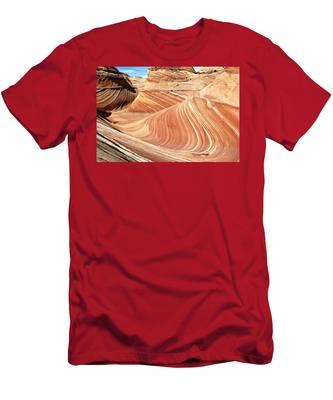 The Wave Rock #2 Men's T-Shirt (Athletic Fit)