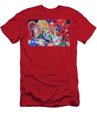 Colors Of Christmas ...sold  Men's T-Shirt (Athletic Fit)