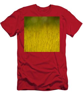 Moss In Yellow Men's T-Shirt (Athletic Fit)