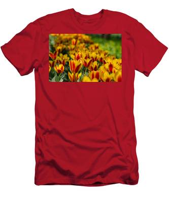 Men's T-Shirt (Athletic Fit) featuring the photograph Spring Mood by Michael Goyberg