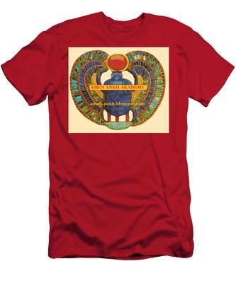Amen Ankh Akademy Men's T-Shirt (Athletic Fit)