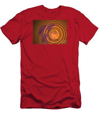 An Echo From The Past - Abstract Art Men's T-Shirt (Athletic Fit)