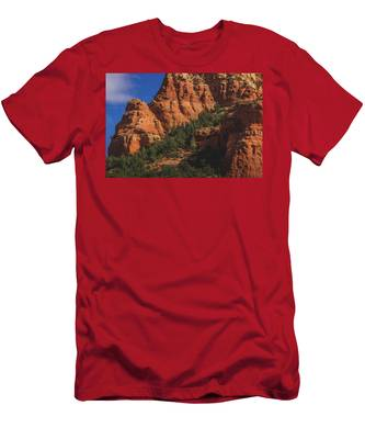 Capitol Butte Details Men's T-Shirt (Athletic Fit)
