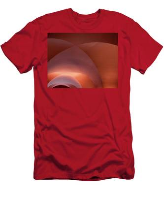 Coral Arched Ceiling Men's T-Shirt (Athletic Fit)