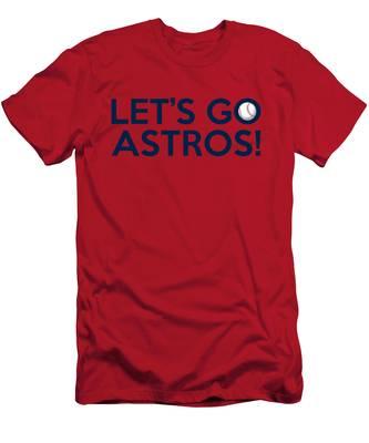 Let's Go Astros Men's T-Shirt (Athletic Fit)