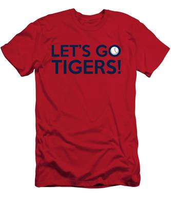 Let's Go Tigers Men's T-Shirt (Athletic Fit)