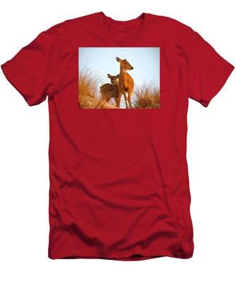 Ocean Deer Men's T-Shirt (Athletic Fit)
