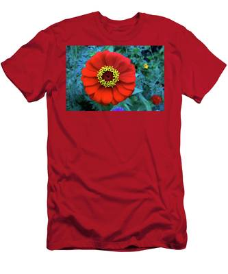 September Red Beauty Men's T-Shirt (Athletic Fit)