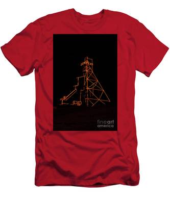 Headframe Lit For The Holidays Men's T-Shirt (Athletic Fit)