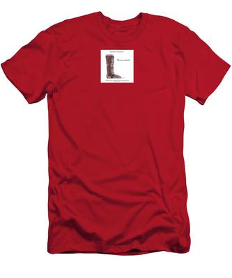 Men's T-Shirt (Athletic Fit) featuring the digital art Shenandoah by Teresa Epps