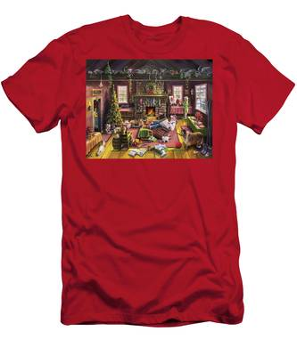 The Micey Christmas Heisty Men's T-Shirt (Athletic Fit)