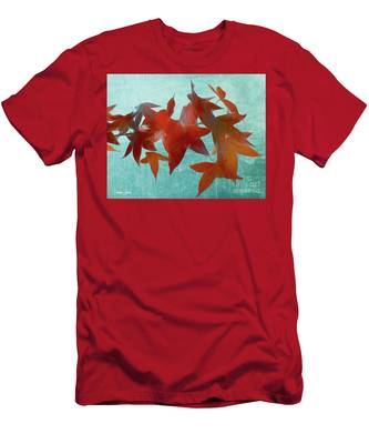 The Red Leaves Men's T-Shirt (Athletic Fit)