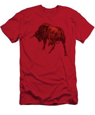 Toro Painting Men's T-Shirt (Athletic Fit)