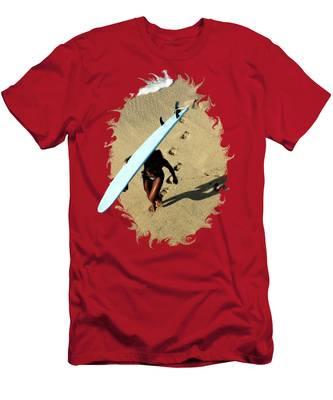 Female Surfer T-Shirts