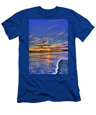 Cayucos Sunset Men's T-Shirt (Athletic Fit)