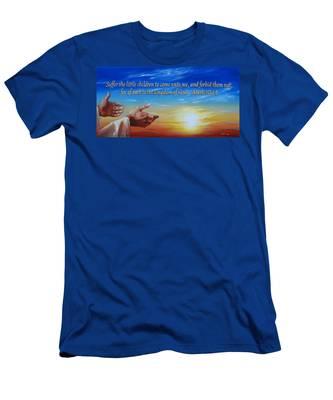 Come Unto Me Men's T-Shirt (Athletic Fit)