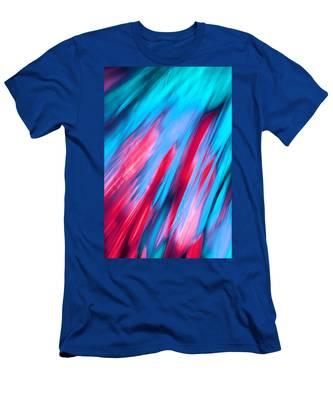 Happy Together Left Side Men's T-Shirt (Athletic Fit)