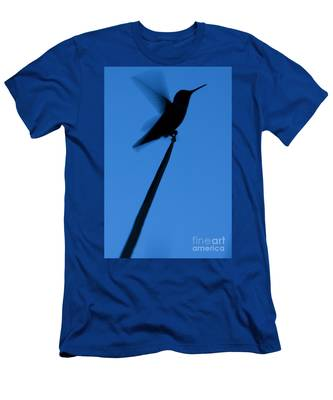 Hummingbird Silhouette Men's T-Shirt (Athletic Fit)