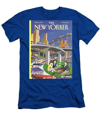 New Yorker May 29th, 1995 Men's T-Shirt (Athletic Fit)