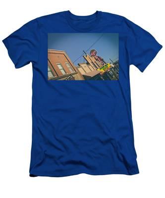Plaza Theatre Men's T-Shirt (Athletic Fit)