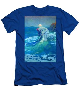 The Mermaid Men's T-Shirt (Athletic Fit)