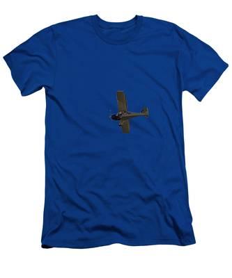 Beach Plane Men's T-Shirt (Athletic Fit)