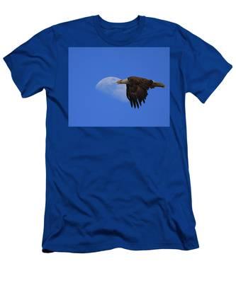 Eagle Moon Men's T-Shirt (Athletic Fit)