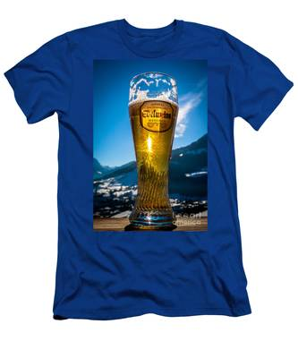 Edelweiss Beer In Kirchberg Austria Men's T-Shirt (Athletic Fit)
