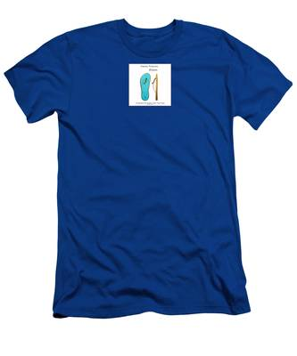 Men's T-Shirt (Athletic Fit) featuring the digital art Eileen by Teresa Epps