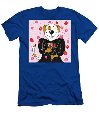 Groom Dog Men's T-Shirt (Athletic Fit)