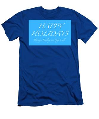 Happy Holidays - Day 5 Men's T-Shirt (Athletic Fit)