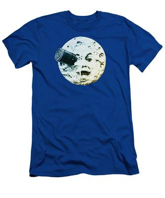 Men's T-Shirt (Athletic Fit) featuring the photograph Shoot The Moon by Bill Cannon