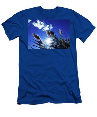Sunburst Reeds Men's T-Shirt (Athletic Fit)
