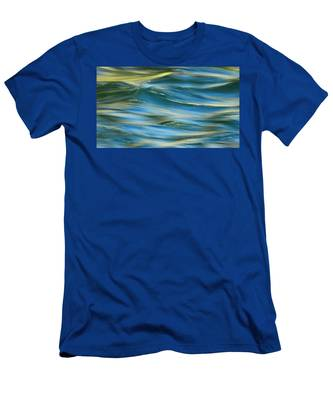 Sunlight Over The River Men's T-Shirt (Athletic Fit)
