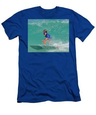 Surfer Boy Men's T-Shirt (Athletic Fit)