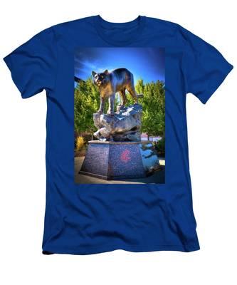 The Cougar Pride Sculpture Men's T-Shirt (Athletic Fit)