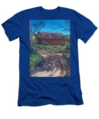 The Old Homestead Men's T-Shirt (Athletic Fit)