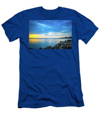 Almost Sunset Men's T-Shirt (Athletic Fit)