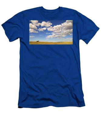 Men's T-Shirt (Athletic Fit) featuring the photograph Cumulus by Carl Young