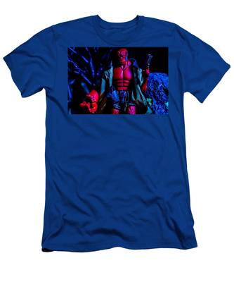 Hellboy II Movie UNGODLY CREATURES Hell Boy Adult T-Shirt All Sizes